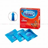 ถุงยางอนามัย ขนาด 52.5 Durex Love คุณภาพดี ผิวเรียบ มีสารหล่อลื่นในตัว (6 กล่อง)
