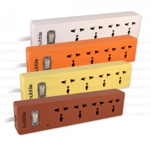 ปลั๊กไฟคุณภาพ สวยงาม ปลอดภัย ตัดไฟอัตโนมัติ หากใช้ไฟเกิน ปลั๊ก 4 จุด สาย 3 ม.