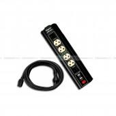 รางปลั๊กไฟ ปลั๊กไฟคุณภาพสูงโดดเด่นด้วย Switch แยกอิสระ พร้อมช่องชาร์จ USB
