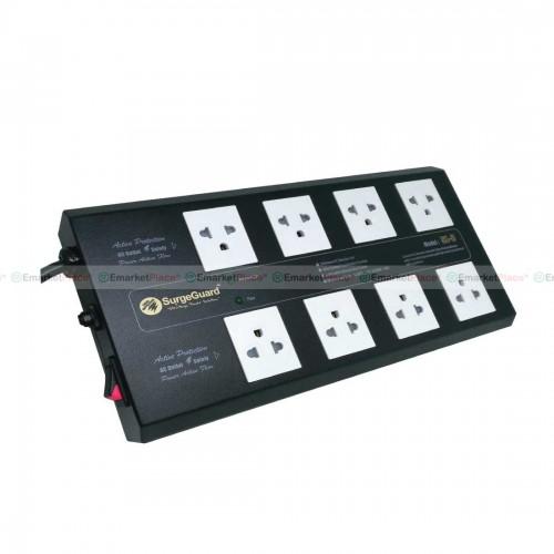 ปลั๊กไฟกรองไฟคุณภาพสูง ป้องกันลดทอนไฟกระชาก ฟ้าผ่า และสัญญาณรบกวน