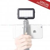 Mini LED ใช้กับกล้อง DSLR,iPhone,Android และที่จับมือถือ (ชุดโปรโมชั่น)