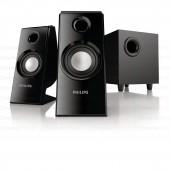 ลำโพงคอมเสียงดี เสียงคมชัด สเตอริโอ 2.1 CH ให้เสียงรอบทิศทาง ดีไซน์สวย
