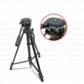 ขาตั้งกล้อง DSLR คุณภาพดี รับน้ำหนักได้ดีสูงสุด 3 กก. ยืดได้สูงสุด 1.5 ม.