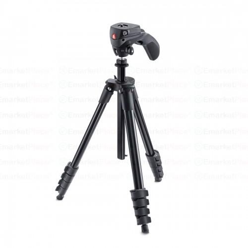 ขาตั้งกล้องหัวแบบ joystick ควบคุมได้ง่าย นิ่มนวล สำหรับถ่ายภาพนิ่ง และบันทึกวิดีโอ