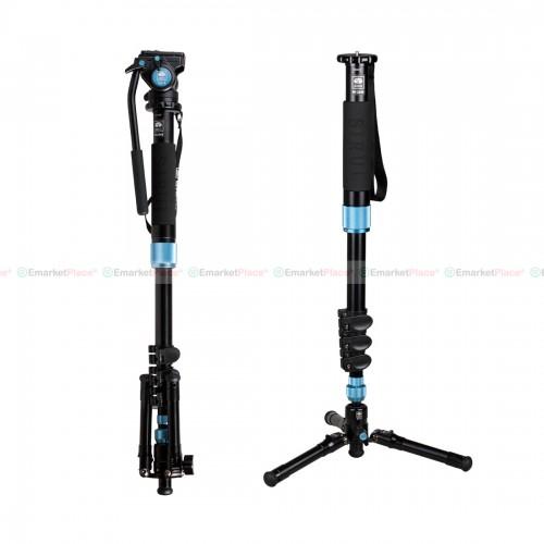 ขาตั้งกล้อง Multi-function รุ่นใหม่ตัวล๊อกแบบ Fliip Lock ทั้ง Photo/Video Monopod