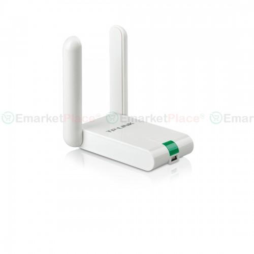 USB Wireless Adapter ความเร็วสูงสุด 300Mbps ปลอดภัยสูงให้การเชื่อมต่อความเร็วสูงได้อย่างเต็มที่