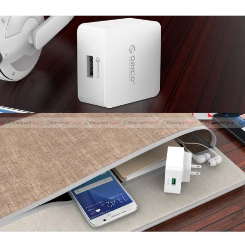 Adapter USB Charger 3.0 คุณภาพดี ชาร์จเร็ว เทคโนโลยีการชาร์จล่าสุดและเร็วที่สุด
